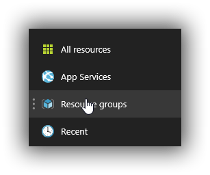 Filter Resource Groups