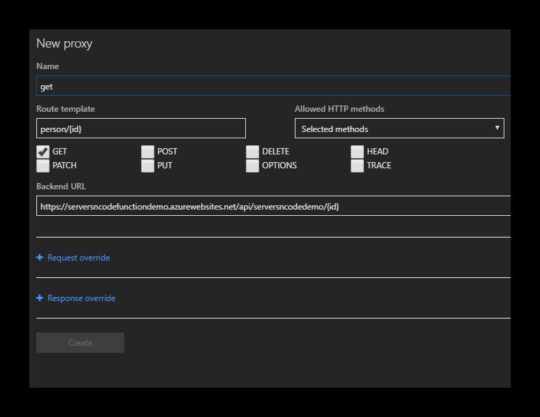 Define-Azure-Function-Proxy