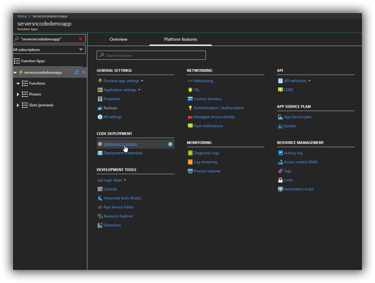 Azure-Function-platform