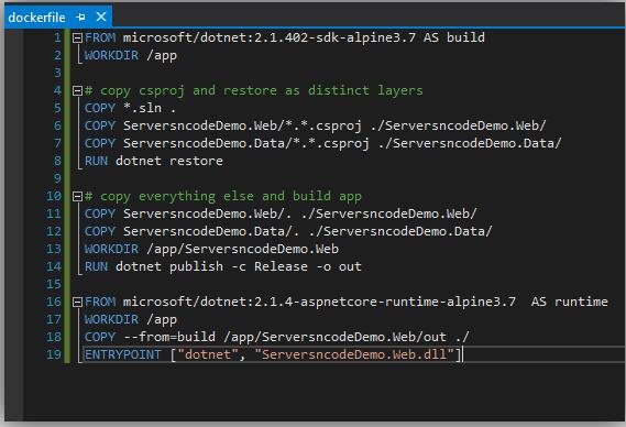 .Net Core and Docker
